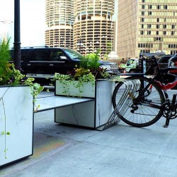 Modular planter with...