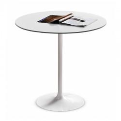 Tavolo bar con piano Ø60 - Infinity
