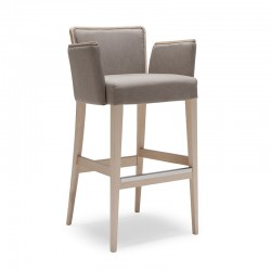 Nob stool with armrests in...