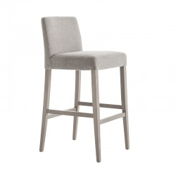 Fixed upholstered stool - Miss
