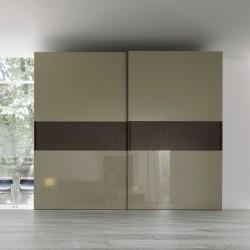 Sangiacomo wardrobe with sliding door and central band - Hill
