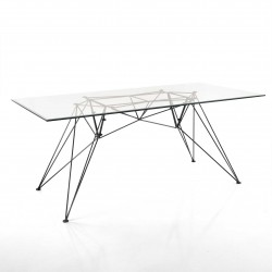 Table/Desk with glass top