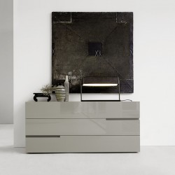 Chest of drawer with 3 drawers - Breccia