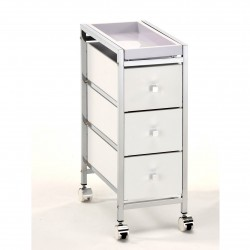 Chest of drawers with wheels