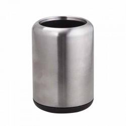 Portaspazzolino in acciaio inox