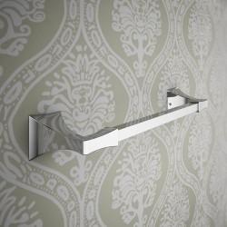 Gotica brass towel-holder