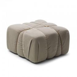 Che Pakko fabric padded pouf