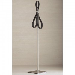 Towel holder in brass and...