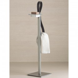 Towel holder w/soap dish - Baio