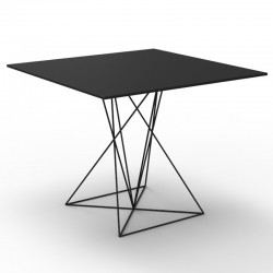 Bar Table in resin and stainless steel - Faz