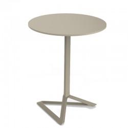 Delta aluminium table base