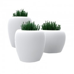 Blow resin planter