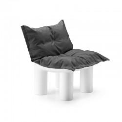 Atene modular armchair in polyethylene
