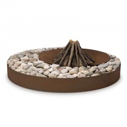 Zen wood-burning outdoor...