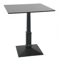 Bagra Q cast iron table...