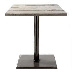 Bapia Weld iron table base...