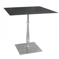 Eclisse square steel table...