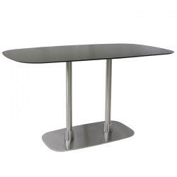 Rift table base with 2...