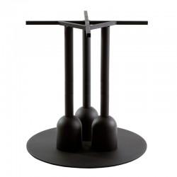 Typha 3 iron round table...