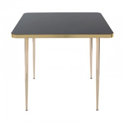 Mirage square table base in...