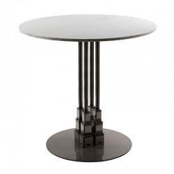 Empire iron table base...