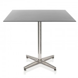 Races steel table base H.72 cm