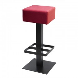 Spritz stool with footrest...