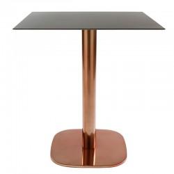 Rounded base tavolo colonna...