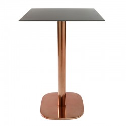 Rounded table base with...