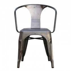 Tonic-B chair in painted iron