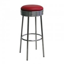 American stool with padded...
