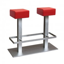Tandem double stool fixed...