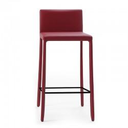 Fixed leather stool - Nunes
