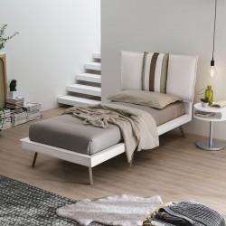 Darwin padded single bed...