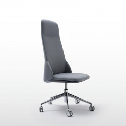 Deep Managerial chair without armrests