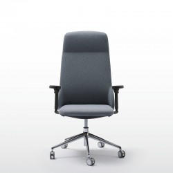 Deep Managerial chair with armrests
