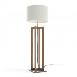 Outdoor floor lamp in wood...