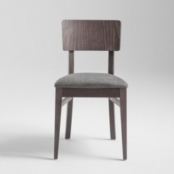 Padded chair in wood - Retrò