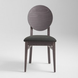 Wooden chair with padded seat - Woody