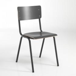 Stackable chair in multilayer - School