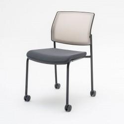 Chair with castors Gaya K