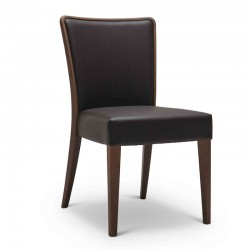 Nob chair upholstered in...