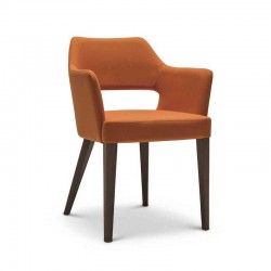 Emily chair in fabric or...