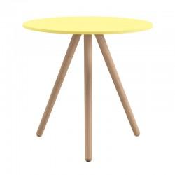 Tavolo bar con gambe in legno - Woody