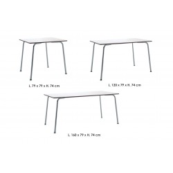 Table with HPL top - Filippo