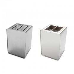Stainless steel ashtray - Prisma