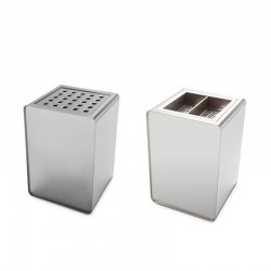 Posacenere in acciaio inox - Prisma