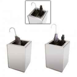 Umbrella stand in stainless steel - Prisma