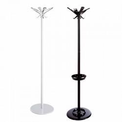 Appendiabiti con portaombrelli in acciaio - Swing