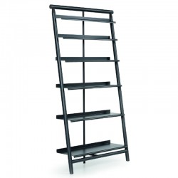 copy of Modular bookcase with glass shelves - Siena